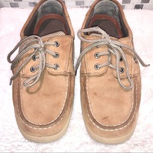 Boys Sperry Boat Shoes Size 6W